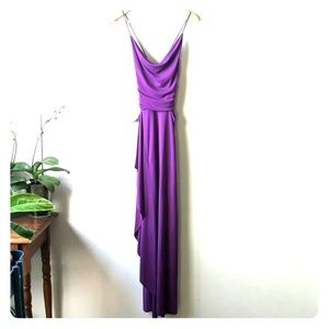 BRAND NEW - Beautiful Purple Evening/Prom Gown